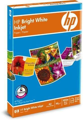 Kopierpapier A4 90 g/m² HP AC5977B Bright White hochweiß matt 250 Blatt