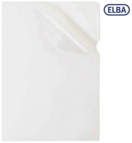 Sichthüllen ELBA A4 PVC-Hartfolie 0,14mm o+r offen glatt 100 St.