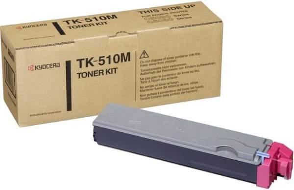 Toner Kyocera TK-510M magenta 8.000 Seiten f. FS-C5020N FS-C5025N FS-C5030N