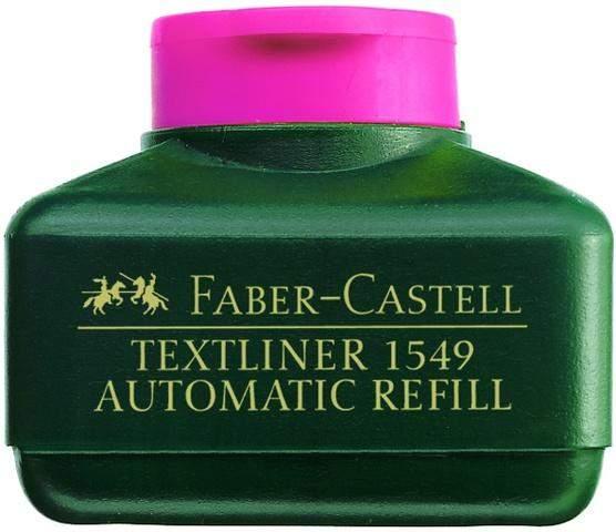 Nachfülltusche Faber Castell 1549 Textliner-Automatic 30ml pink rosa