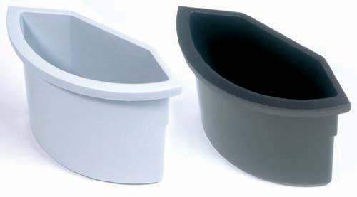 Papierkorb Einsatz für runde Eimer bis Ø30cm lichtgrau