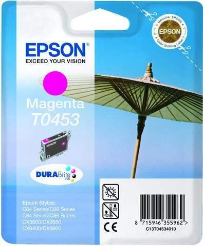 Tintenpatrone Epson C13T04534010 magenta 8ml 250 Seiten original