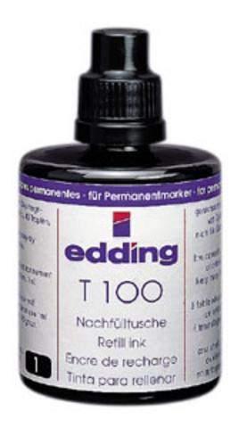 Nachfülltusche Edding T100 100ml für Permanentmarker schwarz