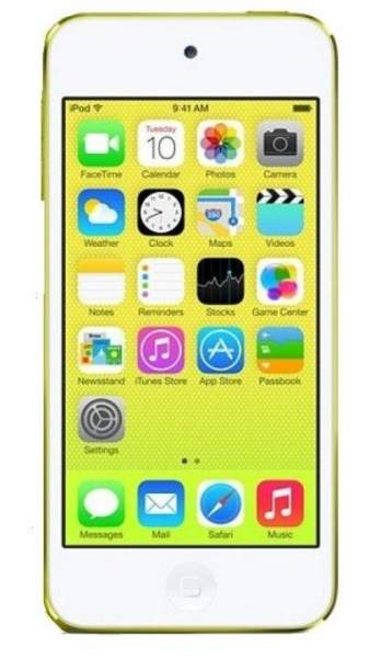NEUES Apple Ipod Touch 64GB gelb (MD715FD/A)
