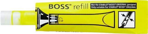 Stabilo Boss Nachfüll-Kartusche für Textmarker gelb