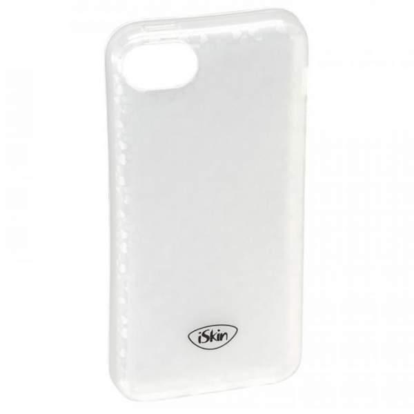 Schutzhülle iSkin Flex Cover Silver hearts für Apple iPhone 5C