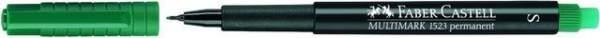 Projektionsschreiber Faber Castell S 0,4 mm grün permanent