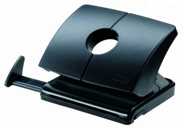 Locher Novus B216 mit Anschlagschiene 16 Blatt 1,6 mm schwarz