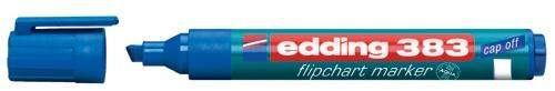 Flipchartmarker Edding 383, 1 - 5 mm nachfüllbar blau / 1 St.