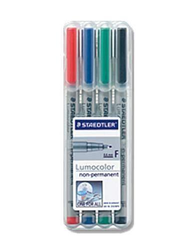 Projektionsschreiber OHP-Stift Lumocolor 316 (4er-Etui)