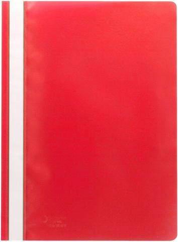 Schnellhefter Sichthefter PP-Folie A4 rot / 1 Stück