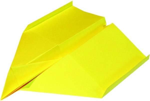 Kopierpapier A4 120g Druckerpapier gelb intensiv (250 Blatt)
