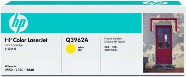 Toner HP Q3962A gelb yellow 4.000 Seiten f. Color LaserJet 2550
