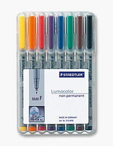 Projektionsschreiber OHP-Stift Lumocolor 316 (8er-Etui)