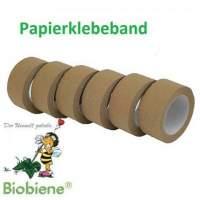 Packbiene® Papierklebeband Öko 50mmx50m Braun 1 Rolle