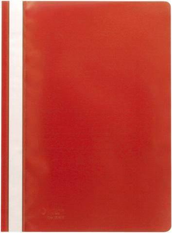 SCHNELLHEFTER OFFICEBIENE® PP-Folie DIN A4 Rot 1 Pckg. á 10 Stück