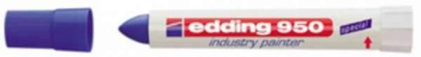 Spezialmarker Edding 950 industry painter 10 mm blau / 1 St.