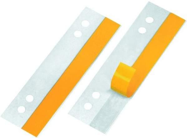 Heftstreifen / Heftfix Veloflex sk 30x105mm transparent VE=100 Stück