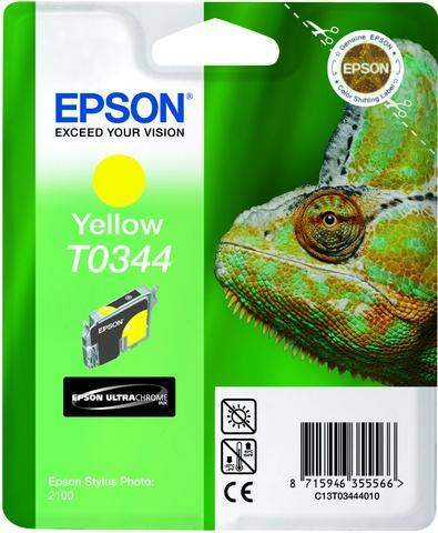 Tintenpatrone Epson C13T03444010 gelb 17ml 440 Seiten