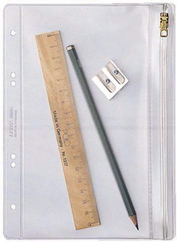 Kleinkrambeutel Leitz 4045 PVC-Folie A5 mit Gleitverschluß