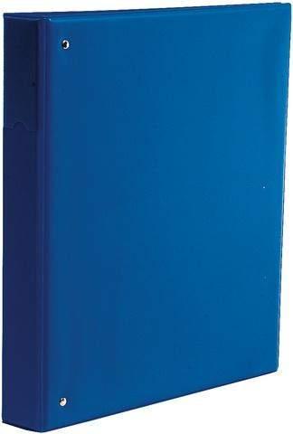 Ringbuch A4 2-Ring-Reißmechanik Ring-Ø 25 mm blau / 1 St.