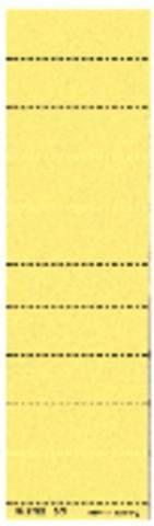 Beschriftungsschilder Leitz 1901 blanko gelb 100 St.