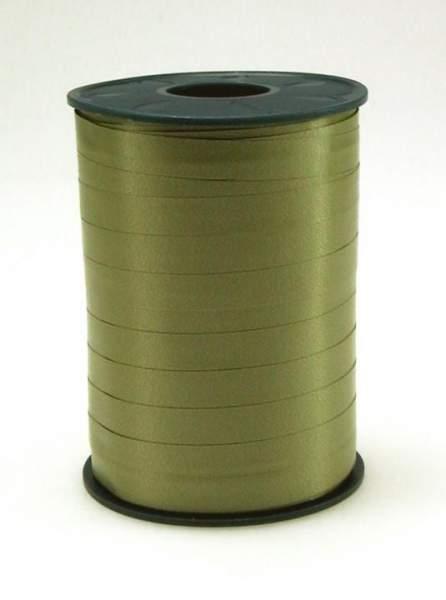Geschenkband Ringelband 5mmx500m Grün Oliv 621