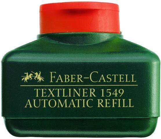 Nachfülltusche Faber Castell 1549 Textliner-Automatic 30ml rot