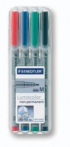 OHP-Stift Projektionsschreiber Lumocolor 315 wasserlöslich 4er Set