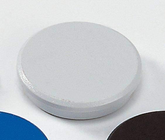 Magnet Ø 32 rund Haftkraft 800g grau (10 St.)