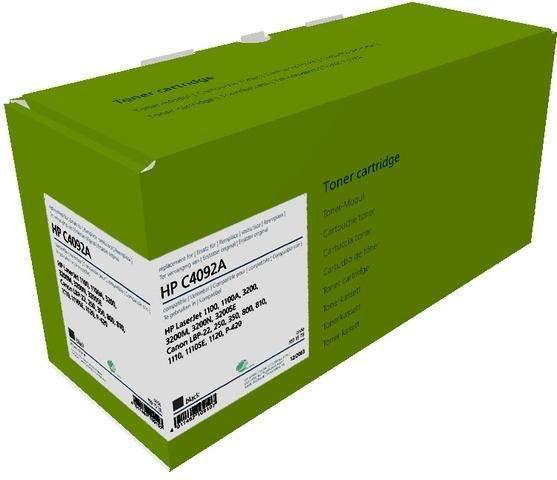 Toner Greenline für HP C4092a kompatibel 2500 Seiten schwarz