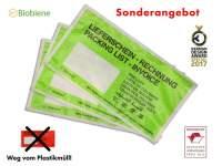 Papier Dokumententaschen DIN Lang Grün umweltfreundlich (250Stk)