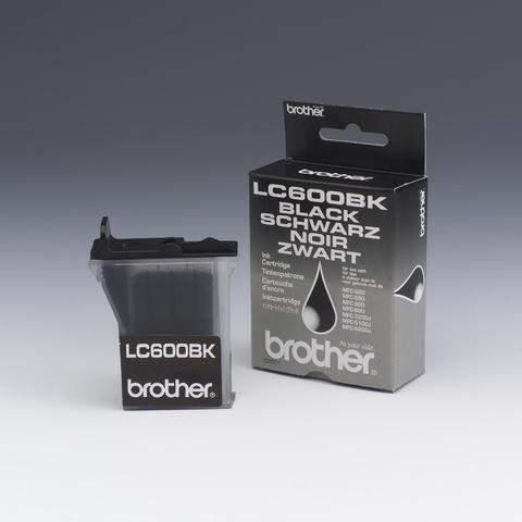 Tintenpatrone Brother LC600BK original ca. 950 Seiten schwarz / 1 St