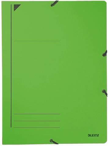 Eckspanner Leitz 3980 Karton 450g DIN A4 grün / 1 Stück