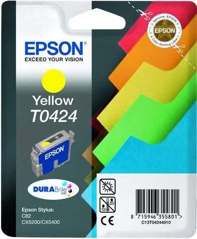 Tintenpatrone Epson f. Styl.C82/CX5200 yellow original 16ml 420 Seiten