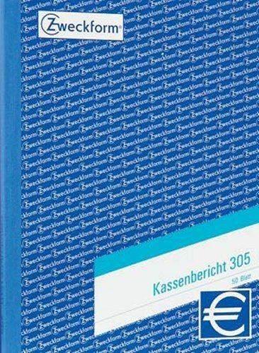 Kassenberichtsblock Zweckform 305 DIN A5 50 Blatt / 1 St.