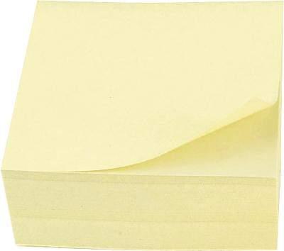 Haftnotizblock gelb 76 x 76 mm