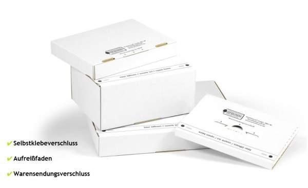 315x225x90mm Postkartons weiß