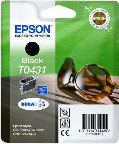 Tintenpatrone Epson C13T04314010 schwarz 29ml 1.350 Seiten