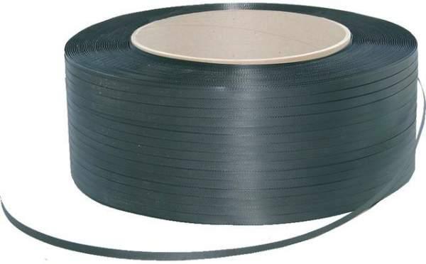 Umreifungsband 12mm x 3000 m Kerndurchmesser 200 mm schwarz (1 Rolle)