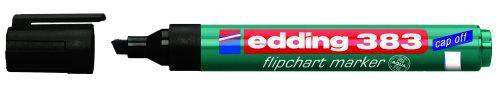 Flipchartmarker Edding 383 1 - 5 mm nachfüllbar schwarz / 1 St.