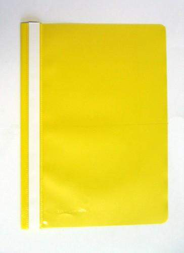 Schnellhefter Sichthefter PP-Folie A4 gelb / 1 Stück