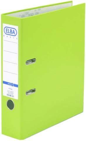 Farbsystem Leitz//Elba Color Buchstabensignale SCH hellbraun 250 St/ück auf Rolle