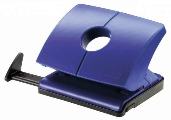 Locher Novus B216 mit Anschlagschiene 16 Blatt 1,6 mm blau
