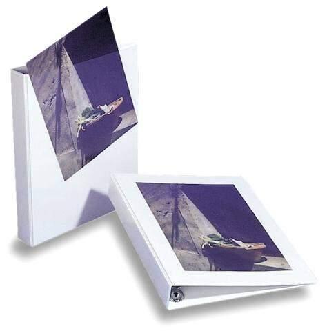 Ordner Präsentationsringbuch A4 weiß 4-Ring-Ø 52 mm / 1 St.