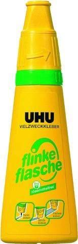 """UHU-Vielzweckkleber """"Flinke Flasche"""" Flasche 100g o. Lösungsmittel"""