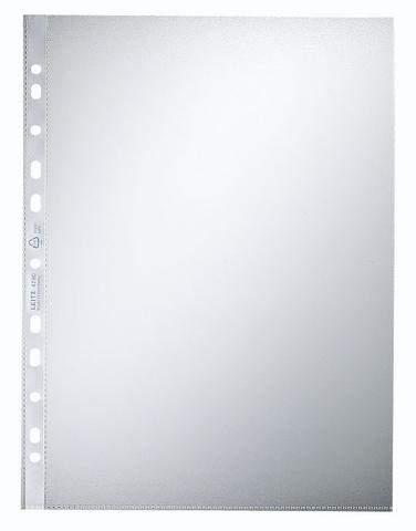 Prospekthüllen A4 Leitz 4790 oben offen 90mµ PP-Folie genarbt (100 Stück)
