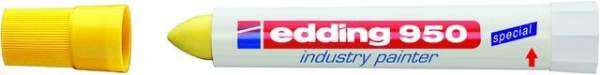 Spezialmarker Edding 950 industry painter 10 mm gelb / 1 St.