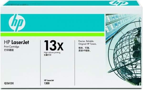 Toner HP 13X Q2613X schwarz 4.000 Seiten f. LaserJet 1300 1300N 1300t