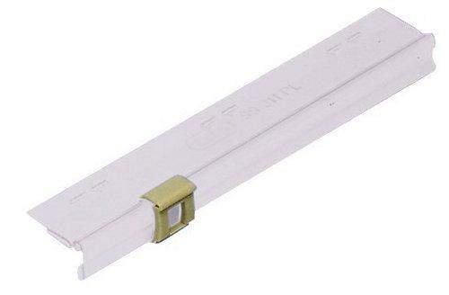 Pendelsichtleiste 10cm aus PVC,farblos f.ELBA 99304 VE=50St.